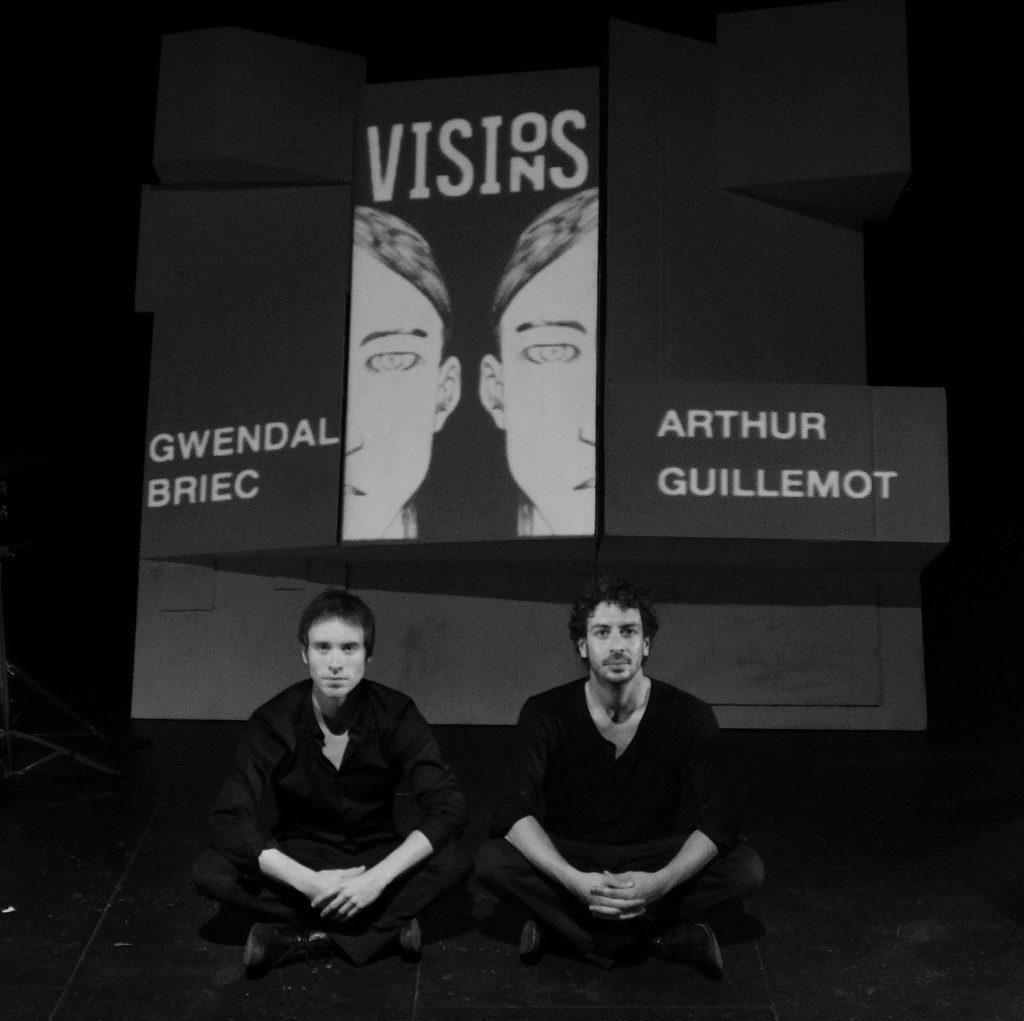 Visions - Gwendal briec - Arthur guillemot - Musicien - compositeur - sound design - piano - guitare - spectacle